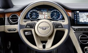 Салон Bentley Continental GT 2018