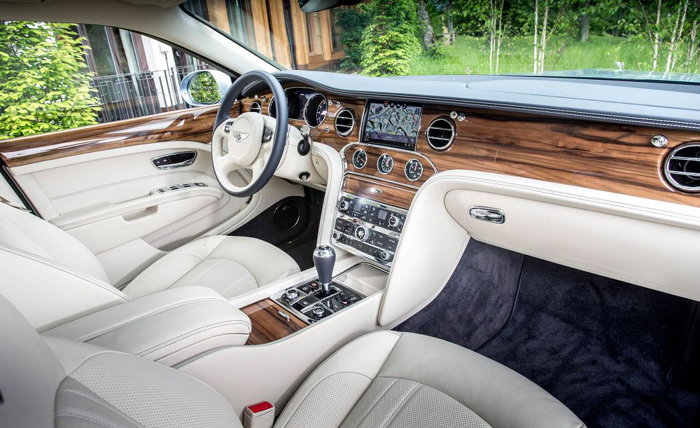 Салон Bentley Mulsanne 2019