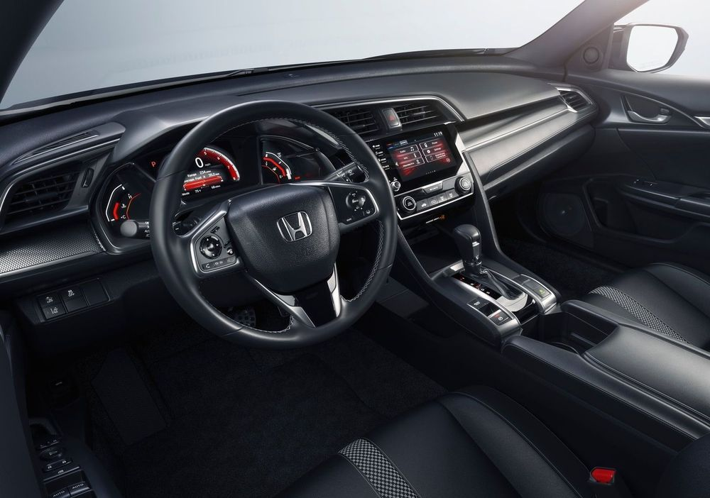 Салон Honda Civic 2020