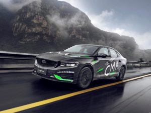 Geely Preface 2021